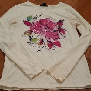 Kid's Water Color Design Long Sleeve